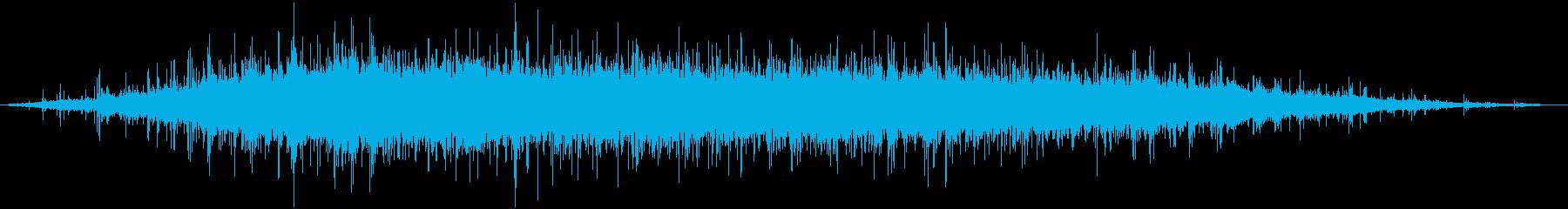 大規模な視聴者:拍手拍手Appと拍手の再生済みの波形