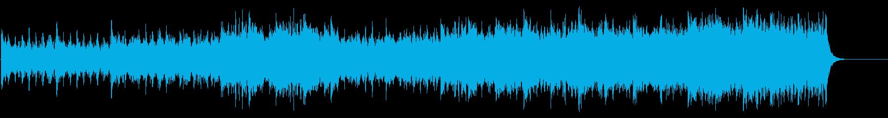 戦国絵巻風サウンド(映画音楽タイプ)の再生済みの波形