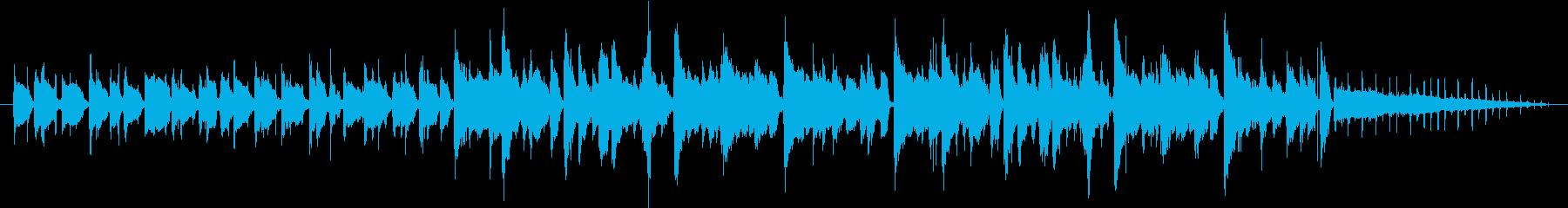 ココロ翔ける午後〜軽やかな音のボッサ〜の再生済みの波形