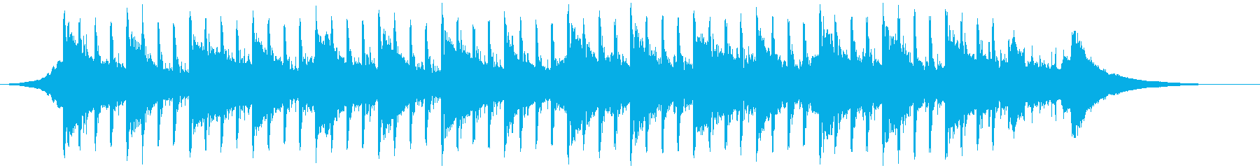最小(43秒)の再生済みの波形