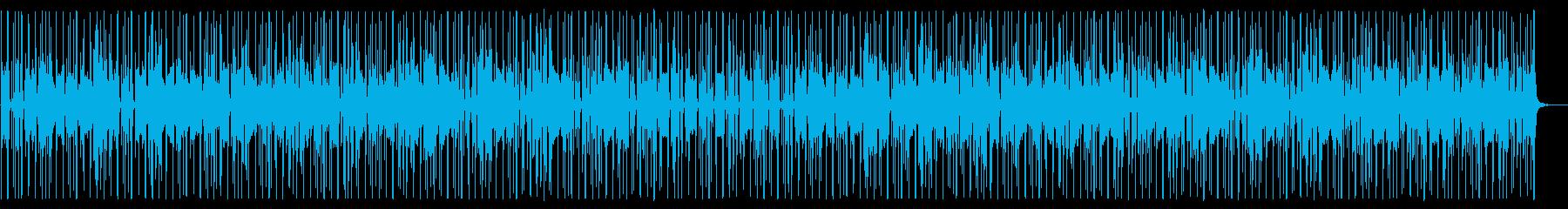 都会/R&B/生演奏_No452_3の再生済みの波形