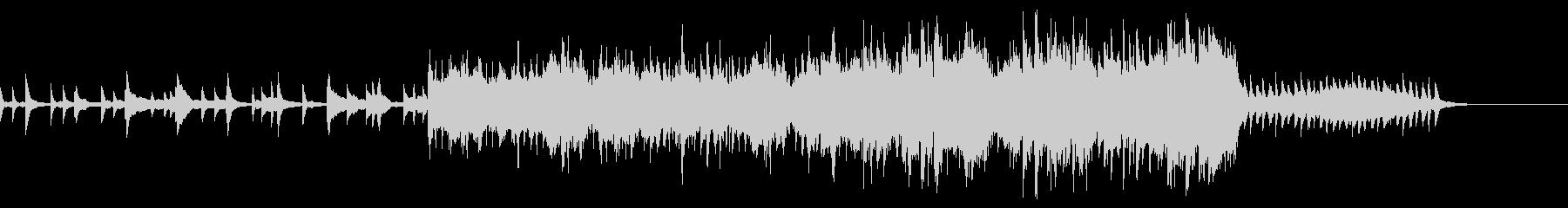幻想的なピアノバラード ゲームオーバーの未再生の波形
