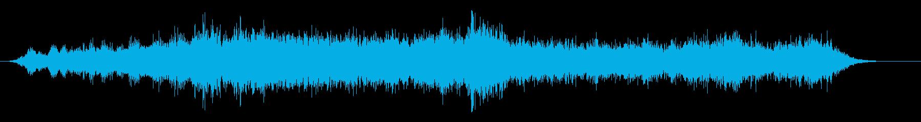 音楽:不気味なスローホラーストリン...の再生済みの波形