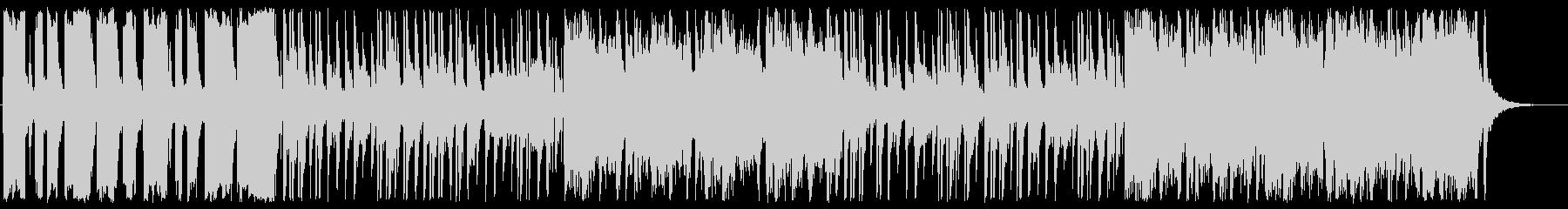 ほのぼのと明るいゆっくりしたテンポの曲の未再生の波形