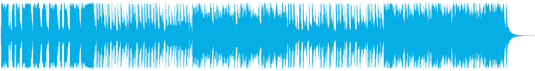 A heartwarming and bright slow tempo song's reproduced waveform