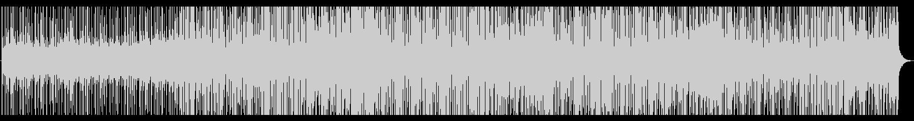 トロピカルで清涼感のあるEDMの未再生の波形