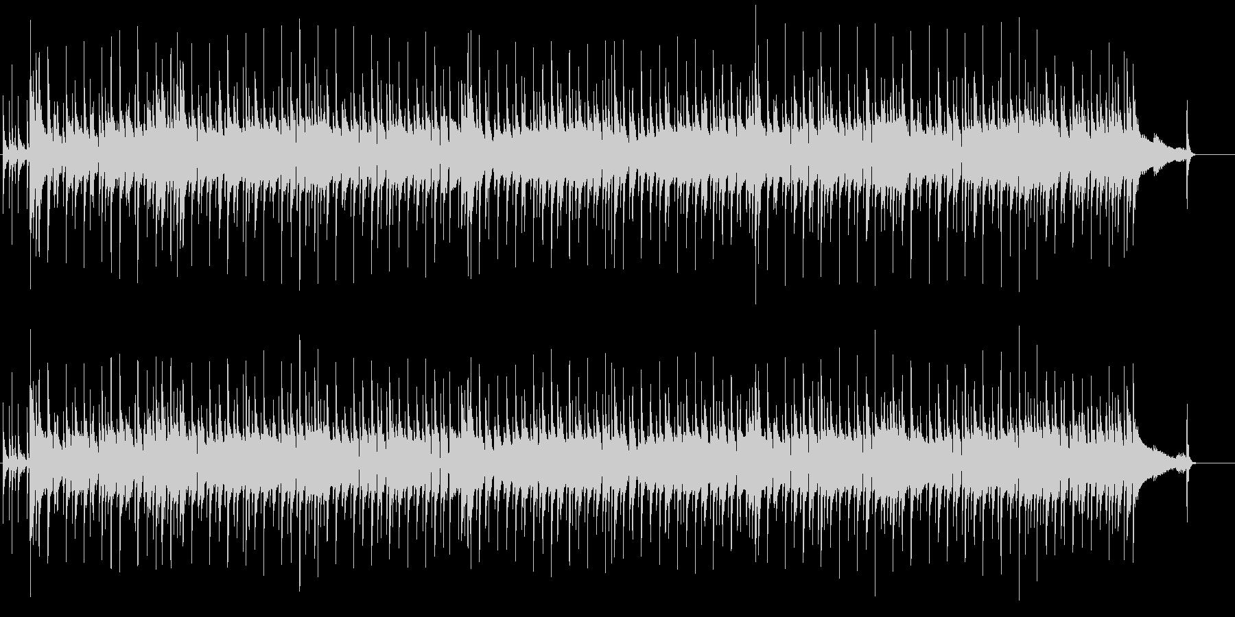 オルガンとバンドのセッションの未再生の波形