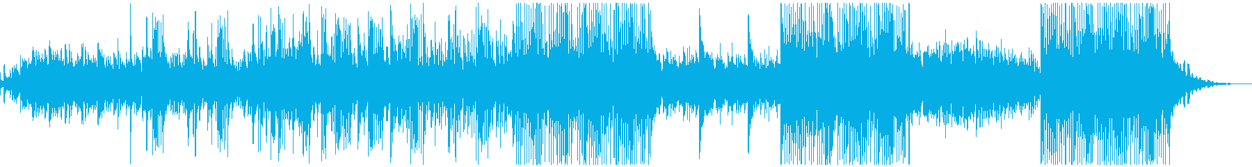 ボイスパーカッションとベルの幻想的な曲の再生済みの波形