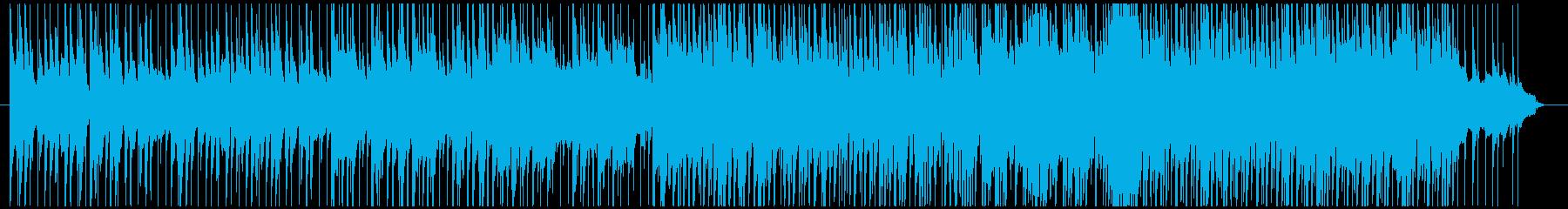 怪しげな占いの館風エキゾチックアラビア曲の再生済みの波形