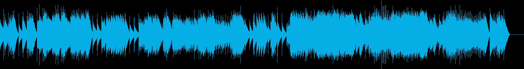 アイネクライネ 第1楽章 (オルゴール)の再生済みの波形
