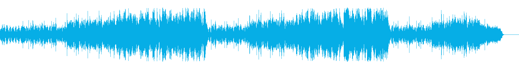 アコギ主体の爽やかなインストの再生済みの波形