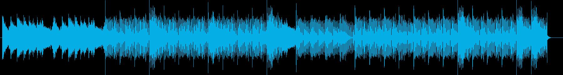 レコード感のあるメロウなR&Bの再生済みの波形