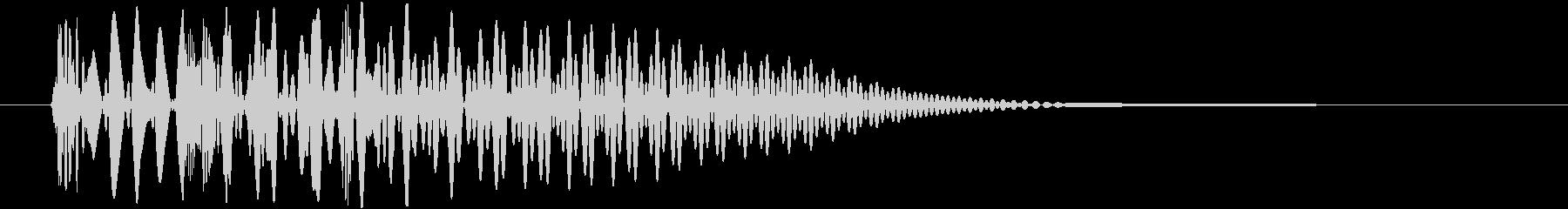 決定_タップ_クリック_200719の未再生の波形