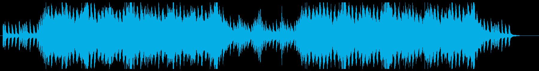 前向きになれるミニマル系BGMの再生済みの波形
