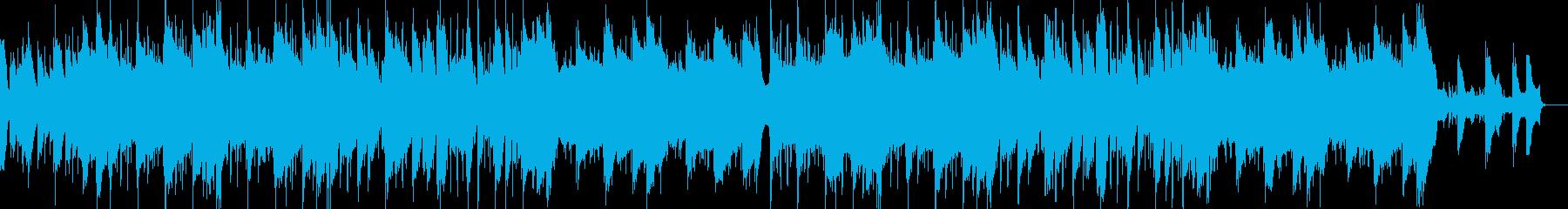 ギターのトラップの再生済みの波形