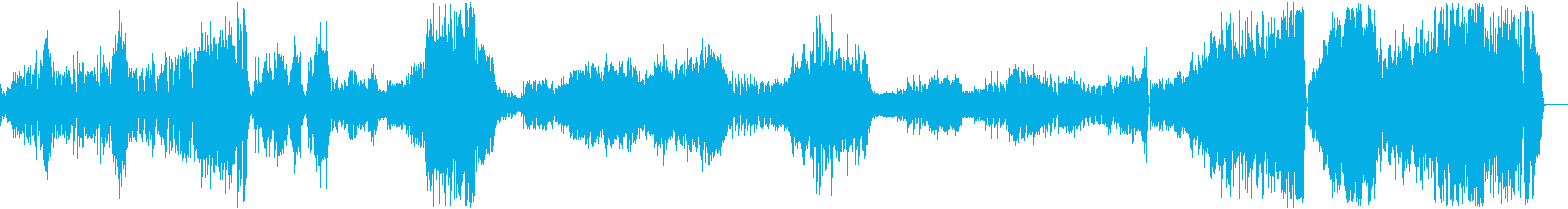 クープランの墓「トッカータ」/ラヴェルの再生済みの波形
