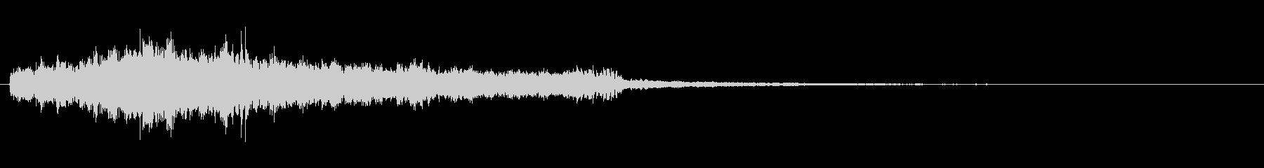 KANT シンセアプリ爽やか音1の未再生の波形
