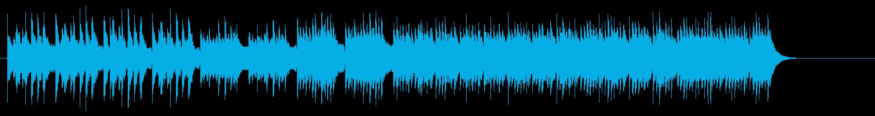 エキゾチックなトルコ民謡風ワールドBGMの再生済みの波形