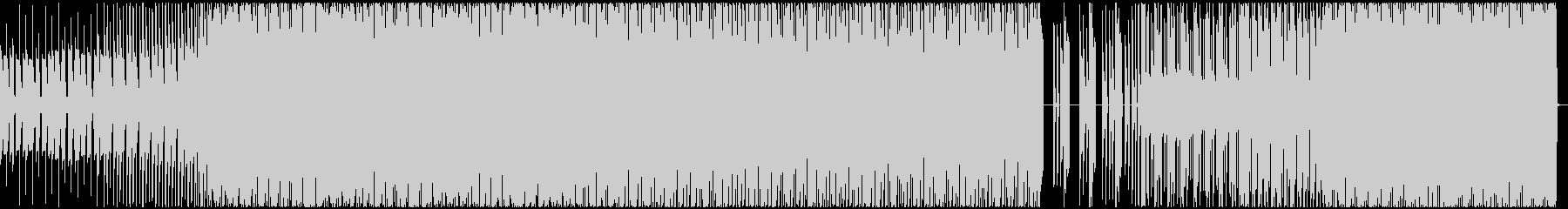 3xoscというシンセを用いたテクノの未再生の波形