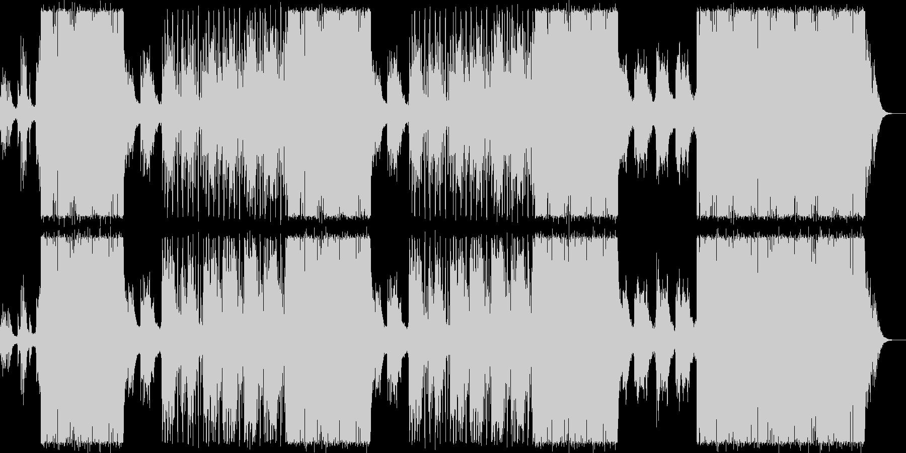 大人な女性ボーカル/ピアノお洒落ビートの未再生の波形