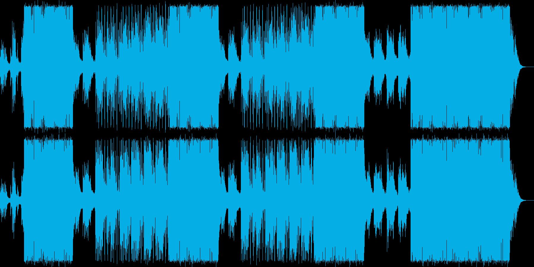 大人な女性ボーカル/ピアノお洒落ビートの再生済みの波形