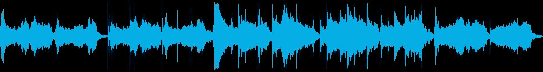 【ループ版】和風 オーケストラ・琴の再生済みの波形