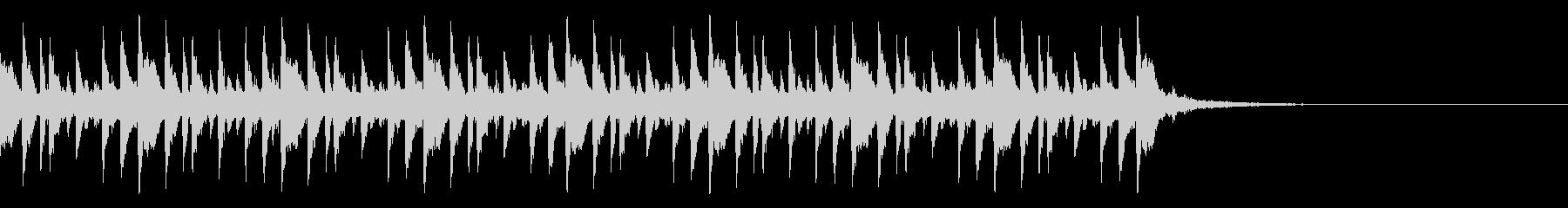 パーラッラーパーラッ…(オープニング)の未再生の波形