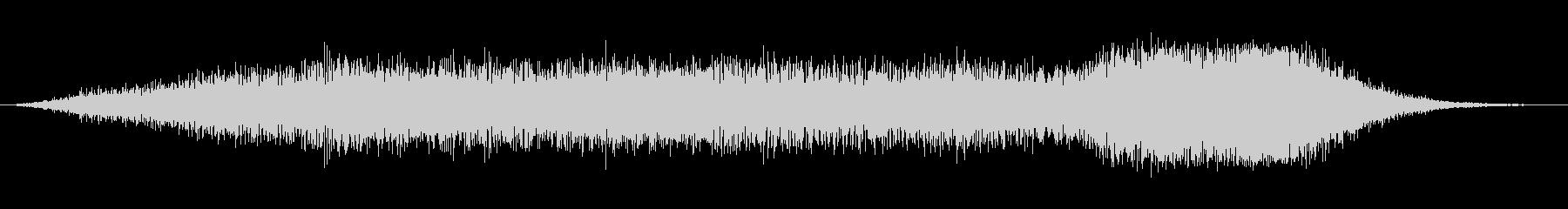 緊張 エアメタルヒス01の未再生の波形