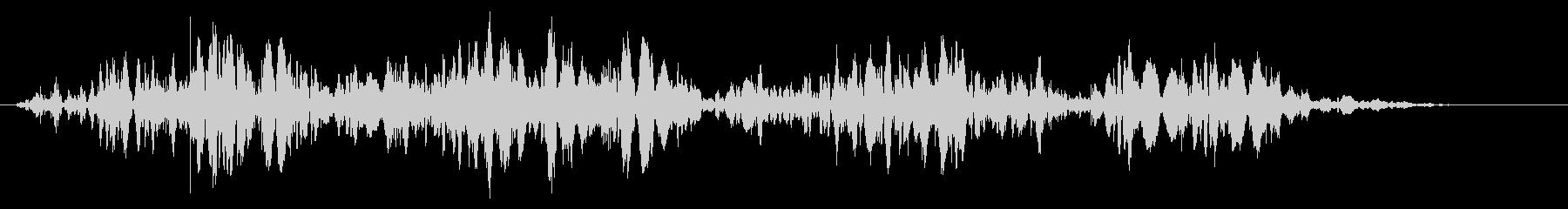 スライムなどが蠢く音タイプC#1の未再生の波形
