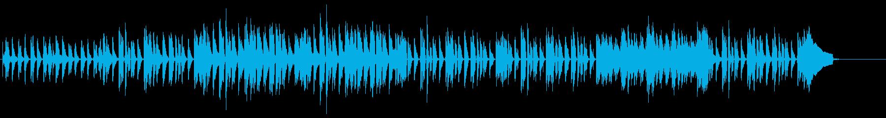 ウクレレ・南国・ゆったり・ハッピーBの再生済みの波形