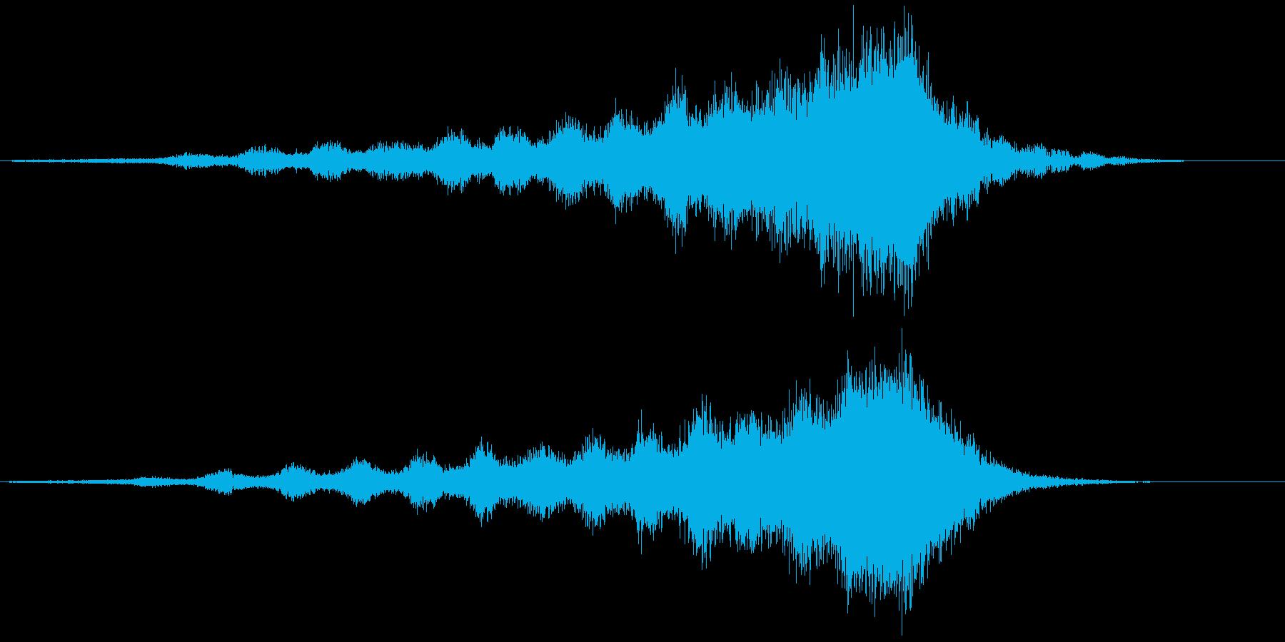 【ライザー】36 SFサウンド 迫力の再生済みの波形