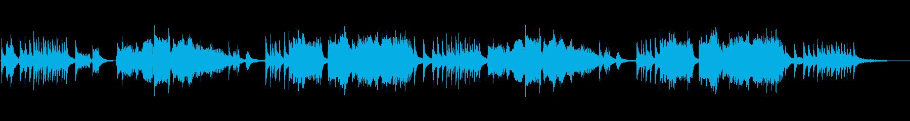 琴と笛による雅楽調の和風曲の再生済みの波形
