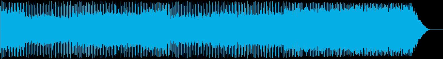 ロッキングオルタナティブソングはフ...の再生済みの波形