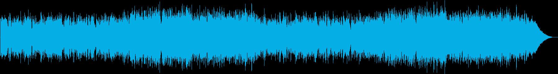 ギターとオカリナのファンタジックサウンドの再生済みの波形