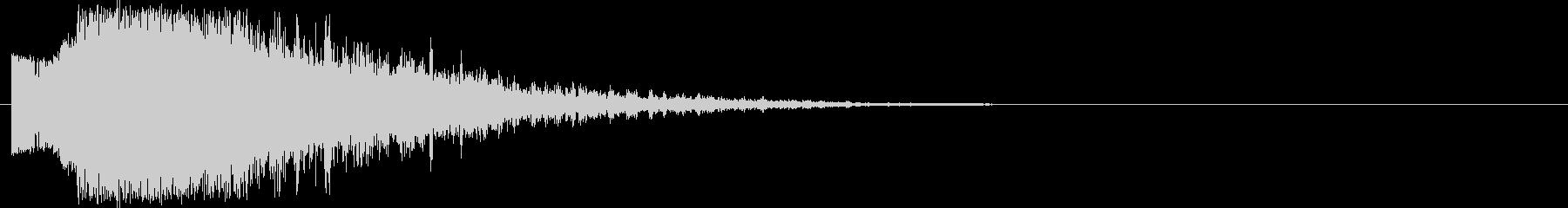 派手で印象的な斬撃音#7の未再生の波形