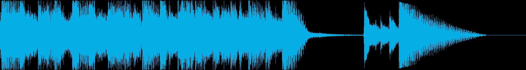 カントリーブルーグラス研究所活気の...の再生済みの波形