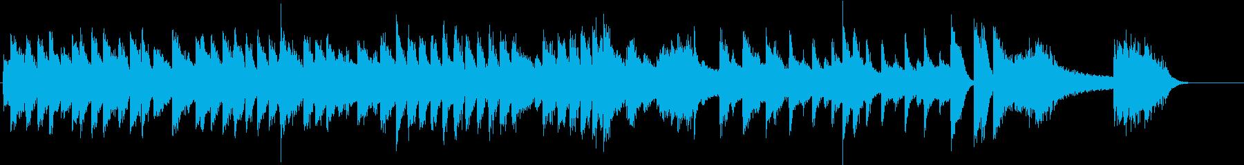 ブギウギで演奏した春よ来いピアノBGM②の再生済みの波形