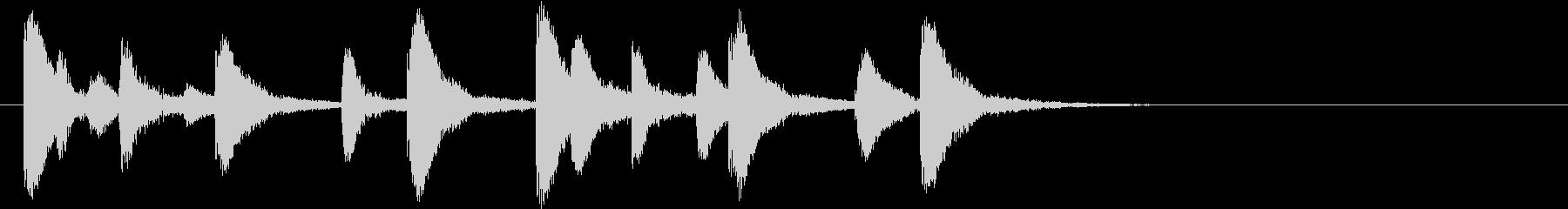 インドの桶太鼓ドールのフレーズ音+FXの未再生の波形