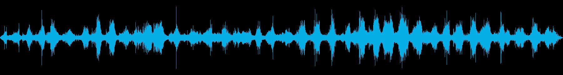 ロッキーショアで波打ち際のレイク波...の再生済みの波形