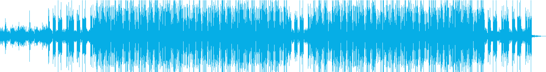 POPなヒップホップの再生済みの波形