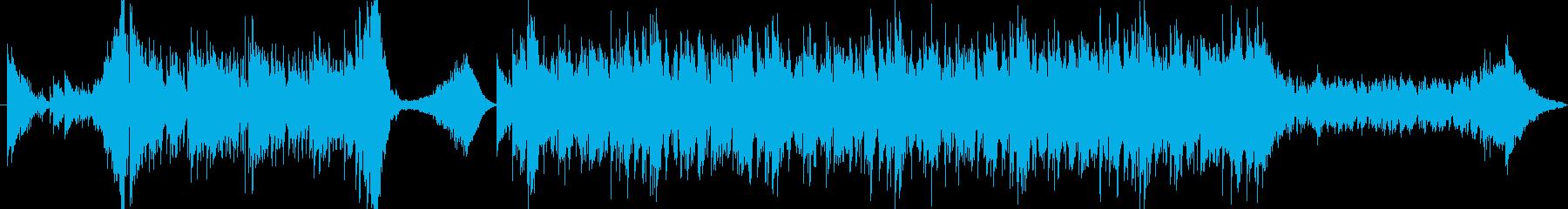 スピード感のあるシーンに最適の再生済みの波形