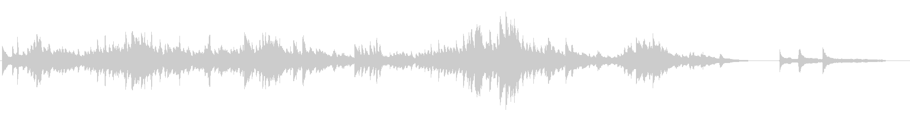ショパン24の前奏曲第4番ホ短調の未再生の波形