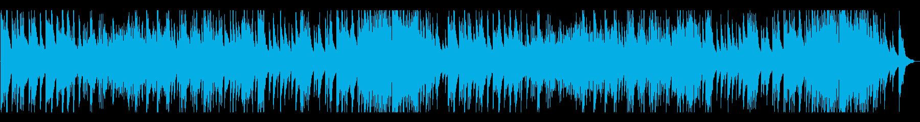懐かしく 穏やかなピアノの再生済みの波形