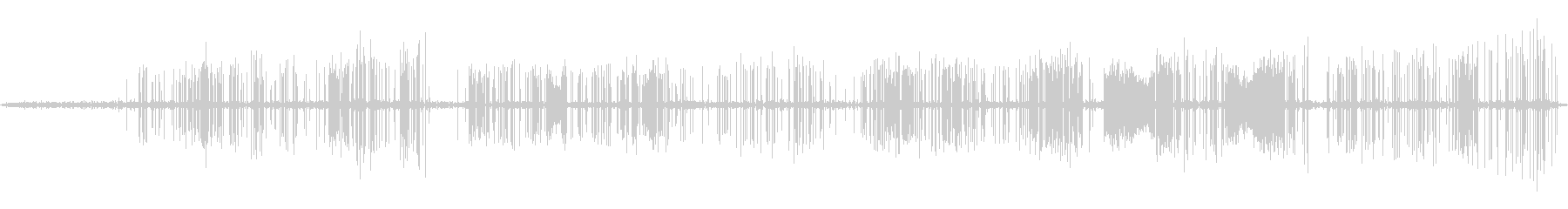 テスラコイル1;さまざまな程度の静...の未再生の波形