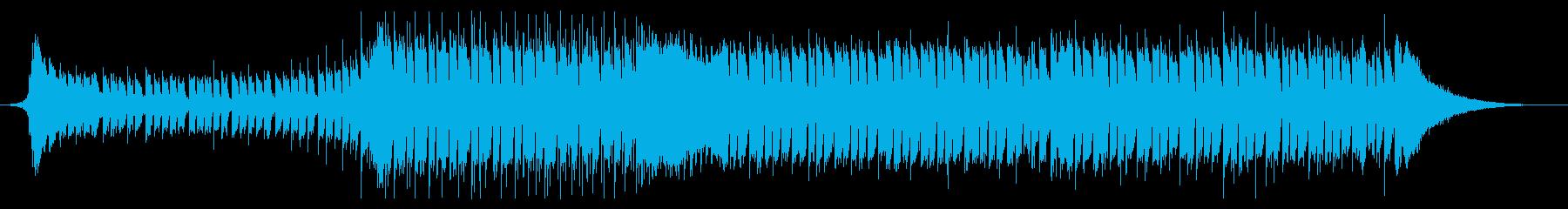 企業VP CM 爽やか EDM風BGMの再生済みの波形