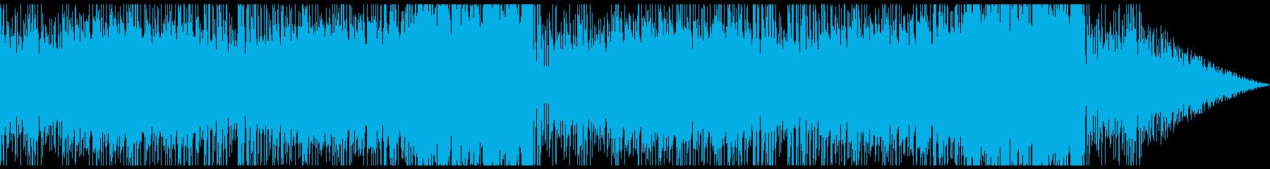 RPGゲームのショップのBGMの再生済みの波形
