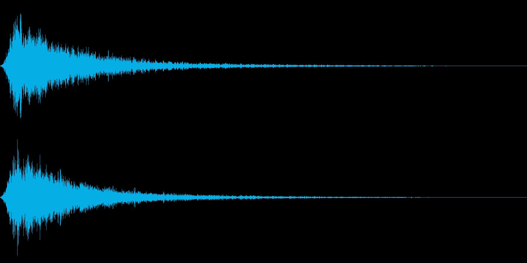 シャキーン キラーン☆強烈な輝きに!20の再生済みの波形