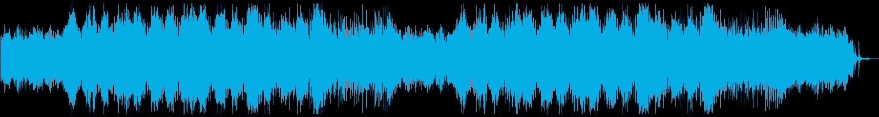 感傷的なシンフォニックテクスチャー。の再生済みの波形