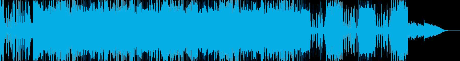 ファンキーでエネルギッシュ、フレッ...の再生済みの波形