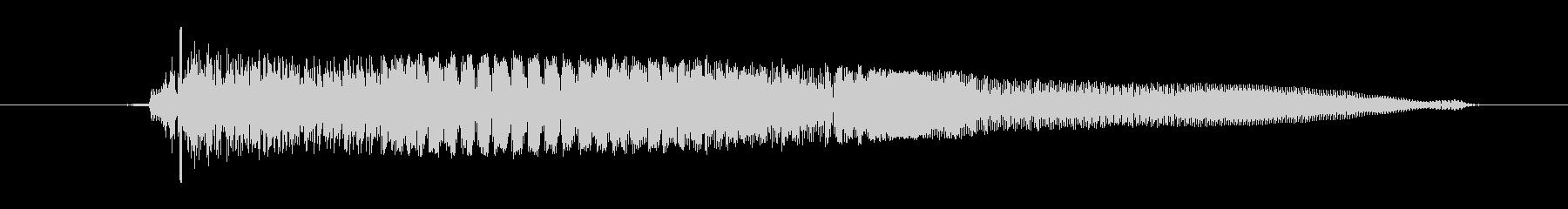 ドワーフ 応援ジュフ02の未再生の波形